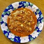 オヤジごはん 豚肉と大豆のトマト煮
