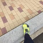 啓蟄の暖かい日中にランニングとビブラム散歩