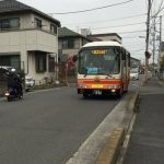 パリポリくんバス 雨の日 2便 ほぼ日刊ほかり(2016/4/28)