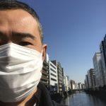 花粉症対策のためにマスクを着用し始めました