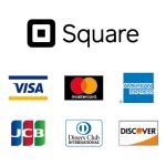 もうすぐSquareで、JCB、Diners Club、Discoverのカードが利用できるようです