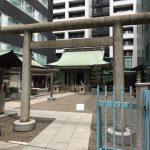東京・渋谷 宮益御嶽神社 しばらくお世話になる渋谷なので挨拶してきました