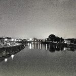 Night River @SOKA / 夜の川 @草加
