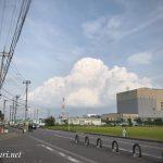 Cloud @SOKA / 雲 @草加